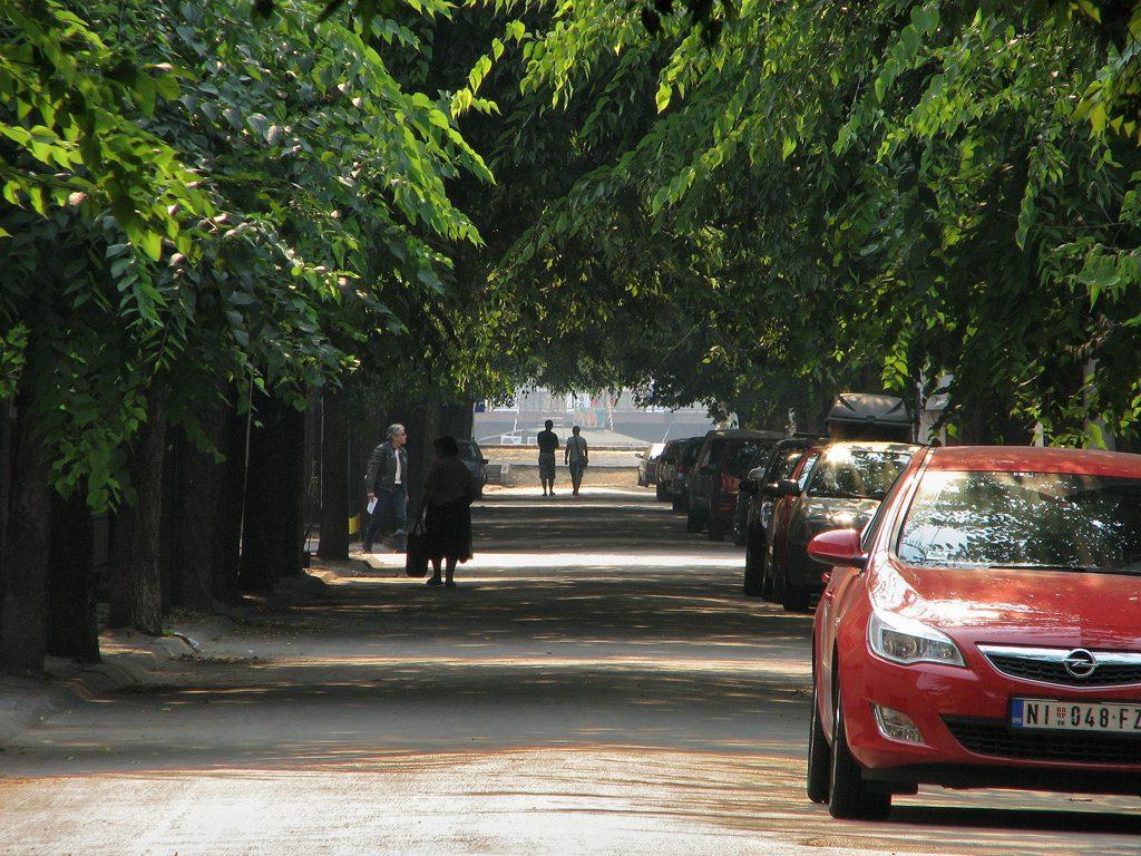 ulic nis automobili